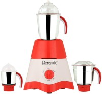 Rotomix MG17-TA-STR-33 600 Mixer Grinder(Red, White, 3 Jars)