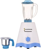 Goldwinner MG17-TA-STR-266 600 Juicer Mixer Grinder(White, Blue, 2 Jars)
