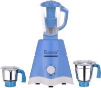 Rotomix MG17-TA-STR-203 600 Juicer Mixer Grinder(Blue, 3 Jars)