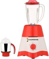 Goldwinner MG17-TA-STR-26 600 Juicer Mixer Grinder(Red, White, 2 Jars)