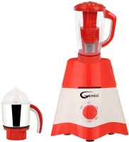 Gemini MG17-TA-STR-20 600 Juicer Mixer Grinder(Red, White, 2 Jars)