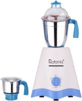 Rotomix MG17-TA-STR-243 600 Mixer Grinder(White, Blue, 2 Jars)