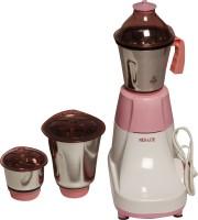 Neu-Lite Dasher 750 Mixer Grinder(Pink, 3 Jars)