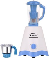 Gemini MG17-TA-STR-260 600 Juicer Mixer Grinder(White, Blue, 2 Jars)
