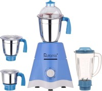 Rotomix MG17-TA-STR-233 600 Juicer Mixer Grinder(Blue, 4 Jars)