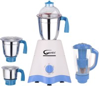 Gemini MG17-TA-STR-310 600 Juicer Mixer Grinder(White, Blue, 4 Jars)