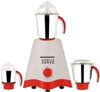 MasterClass Sanyo MG17-TA-STR-114 600 Mixer Grinder(White, 3 Jars)