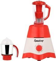 Speedway MG17-TA-STR-12 600 Juicer Mixer Grinder(Red, White, 2 Jars)