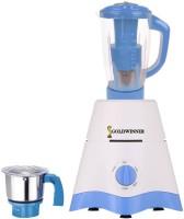Goldwinner MG17-TA-STR-256 600 Juicer Mixer Grinder(White, Blue, 2 Jars)