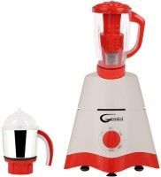 Gemini MG17-TA-STR-100 600 Juicer Mixer Grinder(White, 2 Jars)