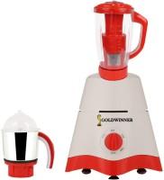 Goldwinner MG17-TA-STR-96 600 Juicer Mixer Grinder(White, 2 Jars)