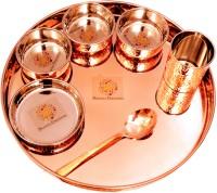 SHANAYA CREATIONS THALI SET Dinner Plates(7 Dinner Plates)