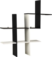 View MasterCraft Folding Wall Shelves MDF Wall Shelf(Number of Shelves - 1, Black, White) Furniture (MasterCraft)
