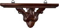 View MasterCraft Shisham Wall Bracket Wooden Wall Shelf(Number of Shelves - 1, Brown) Furniture (MasterCraft)