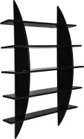 View MasterCraft Folding Wall Shelves MDF Wall Shelf(Number of Shelves - 1, Black) Furniture (MasterCraft)