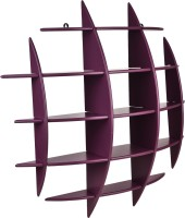 View MasterCraft Folding Wall Shelves MDF Wall Shelf(Number of Shelves - 1, Purple) Furniture (MasterCraft)