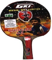 GKI Kung FU DX Black Table Tennis Racquet(Pack of: 1, 86 g)