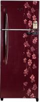 View Godrej 261 L Frost Free Double Door Refrigerator(Ruby Petals, RT EON 261 P 3.4, 2017)  Price Online
