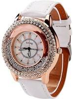 PremiumAV New Fashion Ladies Watch Crystal Rhinestone PU Leather Watches quicksand Women Dress Quartz Wristwatch Hours Reloj Mujer Smartwatch(Black Strap Free Size)