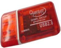 View OYD QUANTUM QHM5075 USB CARD READER QHM5075 Card Reader(Red) Laptop Accessories Price Online(OYD)