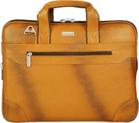 SCHARF Sir Dom Ber Z-Walker Shoulder Bag(Yellow, 15 inch)