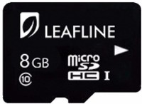 Leafline SDHC I 8 GB MicroSDHC Class 6 24 MB/s  Memory Card