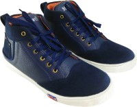 Maxwell Fashion Guru Navy Blue Sneakers(Navy)