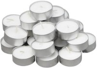 Sayee 100% natural fibers Candle Candle(White, Pack of 50) - Price 175 82 % Off