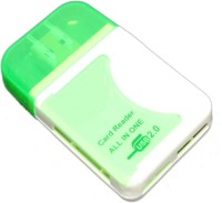 View OYD ALL IN ONE QHM5088 Card Reader(GREEN&WHITE) Laptop Accessories Price Online(OYD)