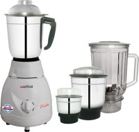 ACTIVA 4 Jar Pluto Pro Plus 650 W Mixer Grinder(White, 4 Jars)