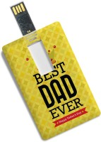 View 100yellow Credit Card Shape Best Dad Ever Printed Fancy 16GB Pen Drive/Data Storage -Ideal For Father 16 GB Pen Drive(Multicolor) Price Online(100yellow)