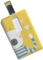 View 100yellow Credit Card Shape Love Printed Designer 16GB Pen Drive/Data Storage 16 GB Pen Drive(Multicolor) Price Online(100yellow)
