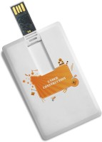 View 100yellow 16GB Printed Credit Card Shape Fancy Pen Drive - Ideal For Gift 16 GB Pen Drive(Multicolor) Price Online(100yellow)