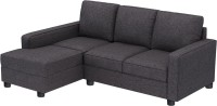 View Gioteak Fabric 3 Seater(Finish Color - Grey) Furniture (GIOTEAK)