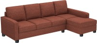 View Gioteak Fabric 4 Seater(Finish Color - Maroon) Furniture (GIOTEAK)