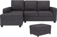 View Gioteak Fabric 4 Seater(Finish Color - Grey) Furniture (GIOTEAK)