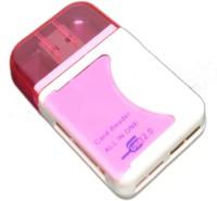 View OYD QHM5088 Card Reader QHM5088 Card Reader(Pink & White) Laptop Accessories Price Online(OYD)