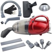 View WESTTURN 4443 Hand-held Vacuum Cleaner(Red) Home Appliances Price Online(WESTTURN)