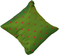 meSleep Embroidered Cushions Cover(45 cm*45 cm, Green)