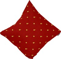 meSleep Embroidered Cushions Cover(50 cm*50 cm, Red)