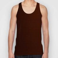 Snoogg Striped Men Round Neck Brown T-Shirt