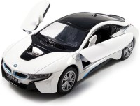 "Kinsmart 5"" 1:35 Scale BMW i8, Die Cast Metal and Openable Door Toys for Kids from Smiles Creation (Multicolor)(Multicolor)"