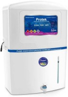 View Protek Advanced 12 L RO + UV +UF Water Purifier(White) Home Appliances Price Online(Protek)