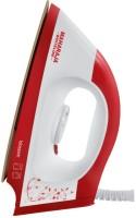 View Maharaja Whiteline Blossom Dry Iron(White, Red) Home Appliances Price Online(Maharaja Whiteline)