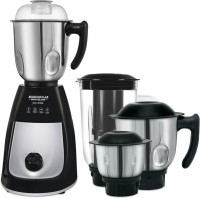 Maharaja Whiteline Mg Joy Elite (MX-166) 750 W Mixer Grinder(Black and Silver, 4 Jars)