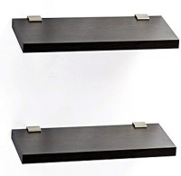 View captiver Display Wall D�cor 12X40 S2 MDF Wall Shelf(Number of Shelves - 2, Black) Furniture (Captiver)