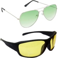 Redleaf Aviator, Sports Sunglasses(Green)