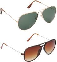 HRINKAR Aviator Sunglasses(For Boys)