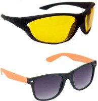 Redleaf Sports, Wayfarer Sunglasses(Yellow)