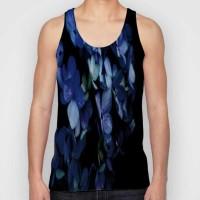 Snoogg Printed Men Round Neck Blue T-Shirt